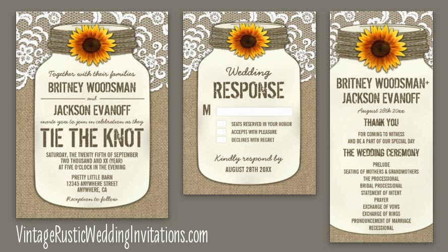 sunflower-mason-jar-burlap-and-lace-wedding-invitations