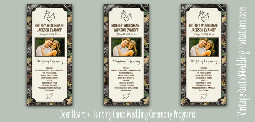 deer-heart-hunting-camo-wedding-programs